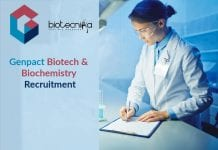 Genpact Biotech & Biochemistry