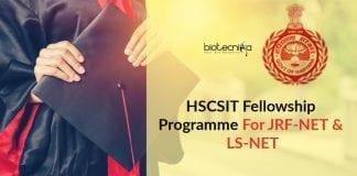HSCSIT Fellowship Programme