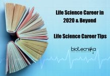 Life Science Career In 2020 & Beyond