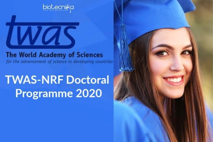 TWAS-NRF Doctoral Programme 2020