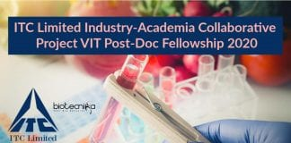 VIT Post-Doc Fellowship 2020