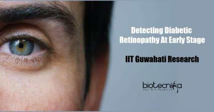 Device to detect diabetic retinopathy