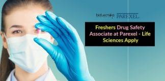 Freshers Drug Safety Associate