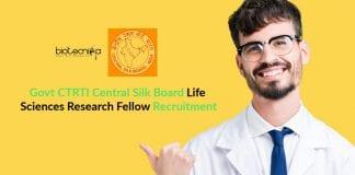 Govt CTRTI Central Silk