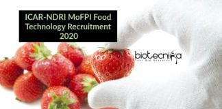 NDRI Food Tech Jobs