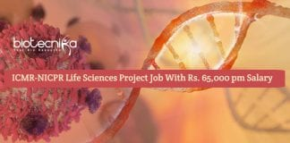 ICMR-NICPR Life Sciences Project