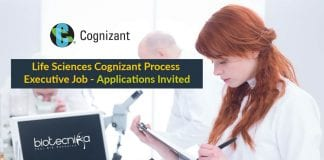 Life Sciences Cognizant Process