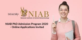 NIAB PhD Admission Program