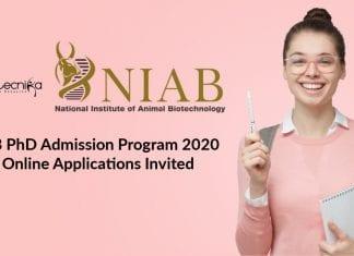 NIAB PhD Admission Program