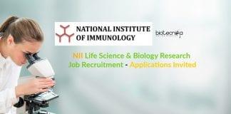NII Biology Research Job