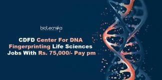 CDFD Genomics Jobs