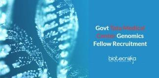 Govt TTCRC Genomics Jobs