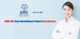 ICMR-NIE Project Recruitment