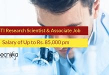 THSTI Research Scientist
