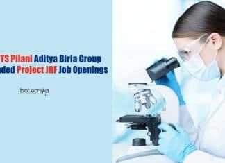 BITS Pilani Microbiology Jobs