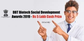 Biotech Social Development Awards
