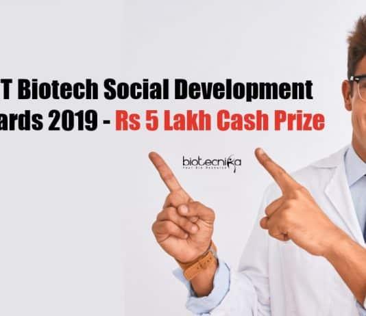 Biotech Social Development Awards
