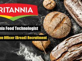 Britannia Food Technologist