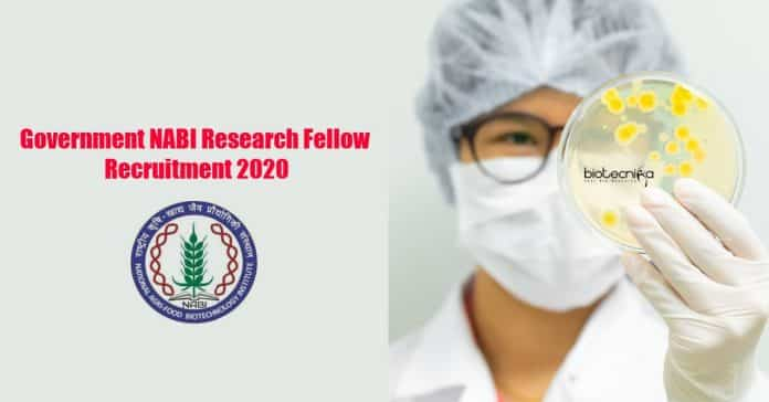 Government NABI Research Fellow