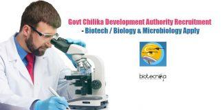 Chilika Development Authority Jobs