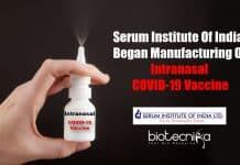 Intranasal COVID-19 vaccine