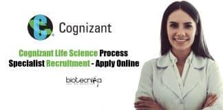 Life Science Cognizant Job