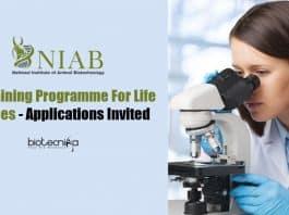 NIAB Lifescience Training Programme