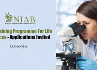 NIAB Lifescience Training Programme