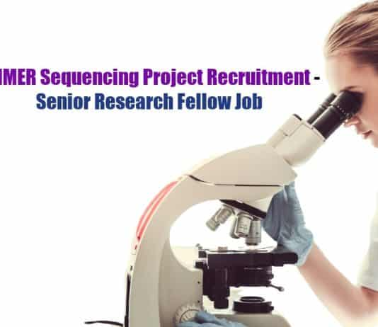 PGIMER SRF Project Job