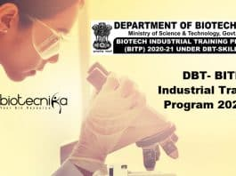 DBT BITP 2021