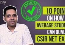 Qualify CSIR NET Exam