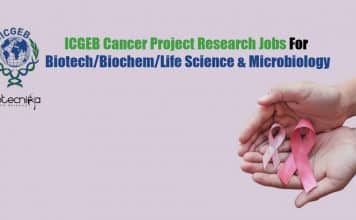 ICGEB Project Research Jobs