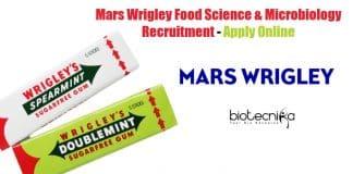 Mars Wrigley Food Science