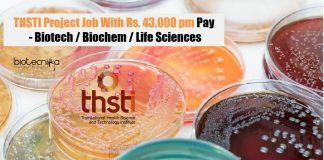 THSTI Project Job