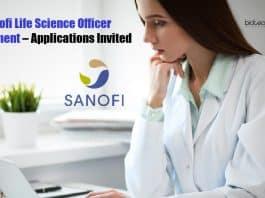 Sanofi Life Science Officer