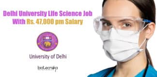 Delhi University Vacancy