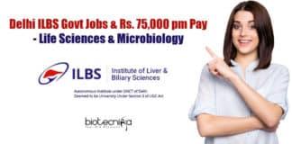 ILBS Delhi Job