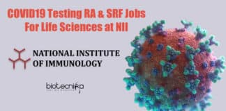 NII Jobs For Lifescience