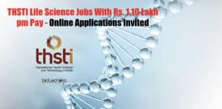 Research Vacancies Lifesciences
