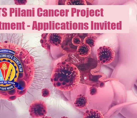 BITS Pilani Cancer Research