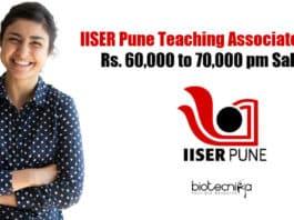 IISER Pune Teaching Associate