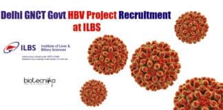 ILBS Delhi Vacancy JRF