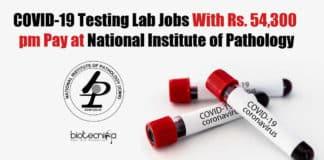 NIP COVID-19 Lab Recruitment