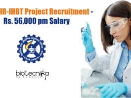 CSIR-IHBT Project Jobs