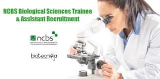 NCBS Biological Sciences Trainee