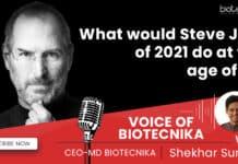 Steve Jobs & Biosciencess