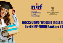 Top 25 Indian Universities