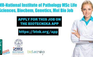ICMR-NIP Research Fellow